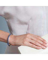 Astley Clarke - Blue Woven Biography Bracelet - Lyst