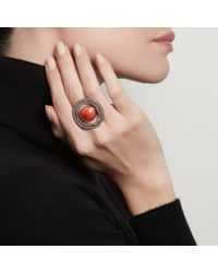 Astley Clarke - Multicolor Agate Saturn Ring - Lyst