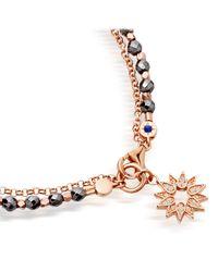 Astley Clarke - Metallic Hematite Sun Biography Bracelet - Lyst