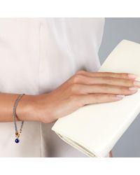 Astley Clarke - Blue Lapis Woven Biography Bracelet - Lyst