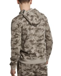 ATM - Multicolor Sun Bleached Camo French Terry Hoodie for Men - Lyst