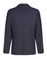 ef41ae3920e42c Ted Baker Men s Wingit Mini Design Blazer in Blue for Men - Lyst