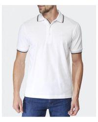 BOSS Green - White Paddy Polo Shirt for Men - Lyst