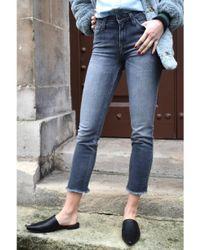 Lee Jeans - Blue Elly Mid Smoke Jeans - Lyst