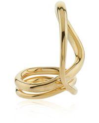 Charlotte Chesnais | Metallic Yellow Gold Round Trip Ring | Lyst