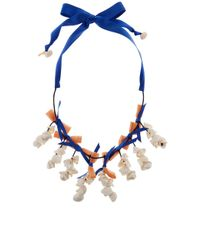 Lele Sadoughi | Blue Island Hue Shell Collector Necklace | Lyst
