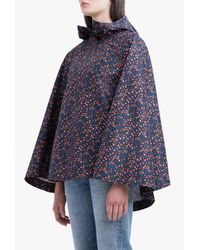 Herschel Supply Co. - Blue Poncho Vyg Poly Jacket - Lyst