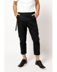 Stampd | Black Strap Chino Pant for Men | Lyst