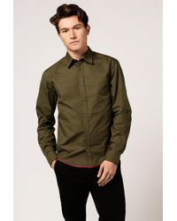 Band of Outsiders - Green Slim Fit Shirt for Men - Lyst