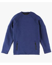 Native Youth - Blue Scuba Sweater for Men - Lyst