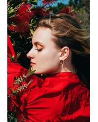 Gabriela Artigas - Metallic Full Sphere Earrings - Lyst