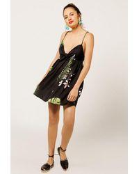Azalea - Black Tropical Print Mini Dress - Lyst
