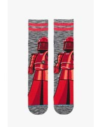 Stance - Red Guard Sock for Men - Lyst