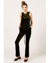 Again - Black Jocelyn Jumpsuit - Lyst