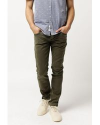 Hudson - Green Blake Slim Straight Jean for Men - Lyst