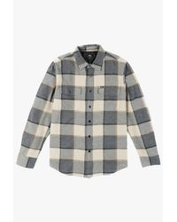 Obey | Blue Belmont L/s Shirt for Men | Lyst