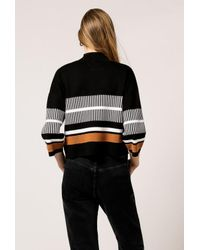 Native Youth - Black Noontide Knit Top - Lyst