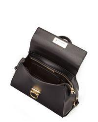 Ferragamo | Sophia Medium Leather Tote - Black | Lyst