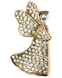 Jones New York | Metallic Gold-Tone Angel Pin | Lyst