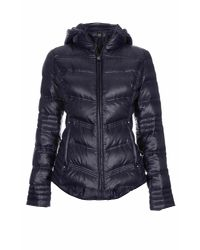 Dawn Levy - Blue Hooded Zip Jacket - Lyst