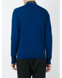 Paul Smith - Blue Crew Neck Sweater for Men - Lyst