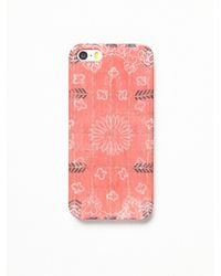 Free People - Red Print Rubber Iphone 5/6 Case - Lyst