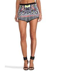 Clover Canyon | Multicolor Havana Paisley Shorts in Black | Lyst