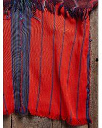Free People - Red Vintage Guatemalan Huipil Top - Lyst