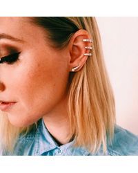 Jenny Bird - Metallic Moondrop Ear Cuff - Lyst
