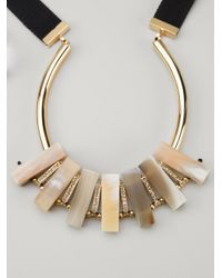 Marni | Metallic Horn Necklace | Lyst