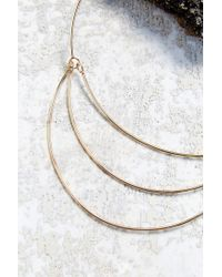 Urban Outfitters | Metallic Open Geo Collar Necklace | Lyst