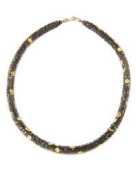 Peppercotton - Gray Emoji Necklace - Lyst