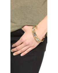 House of Harlow 1960 - Metallic Desert Sun Engraved Bracelet Set - Lyst