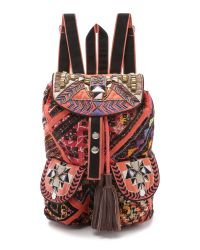 Shashi | Aida Backpack - Orange | Lyst