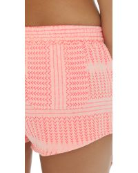 Surf Bazaar - Natural Track Beach Shorts - Lyst