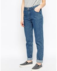 Native Youth - Blue Mom Fit Jeans - Lyst