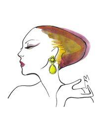 Shourouk | Yellow Roma Earrings | Lyst