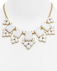 "kate spade new york - White Daylight Jewels Necklace, 17"" - Lyst"