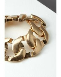 Forever 21 | Metallic Curb Chain Bracelet | Lyst