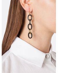 Ashley Pittman | Black 'mara' Earrings | Lyst