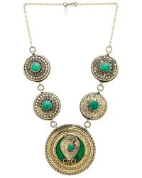 Natalie B. Jewelry | Metallic Esmeralda Necklace | Lyst