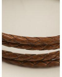 Paul Smith | Brown Woven Bracelet for Men | Lyst