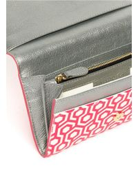 Mischa | Pink Continental Wallet | Lyst