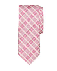 Brooks Brothers - Pink Plaid Tie for Men - Lyst