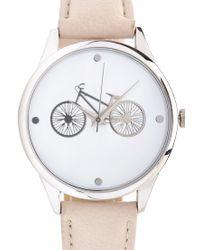 Forever 21 Metallic Bike Analog Watch