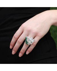 Arunashi - Green Water Opal Grape Ring - Lyst