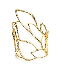 Alexis Bittar | Metallic Phoenix Crystal Embellished Rocky Cuff | Lyst