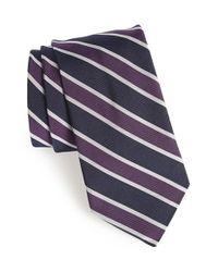 Todd Snyder - Blue Silk & Cotton Tie for Men - Lyst
