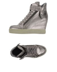 Ash - Gray High-tops & Trainers - Lyst