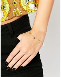 Gorjana - Metallic Good Luck Charm Bracelet - Lyst